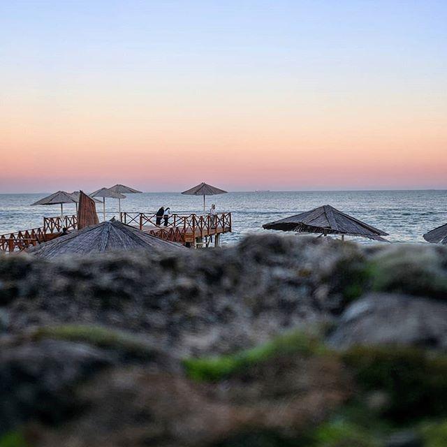 Вечерний ноябрь Черного моря....