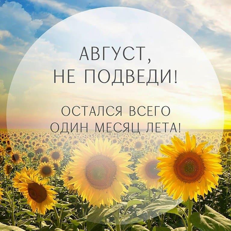 До конца лета, осталось...Z.z.z..z- ЕЩЕ ЦЕЛЫЙ МЕСЯЦ!- Ура-a-a-a.....