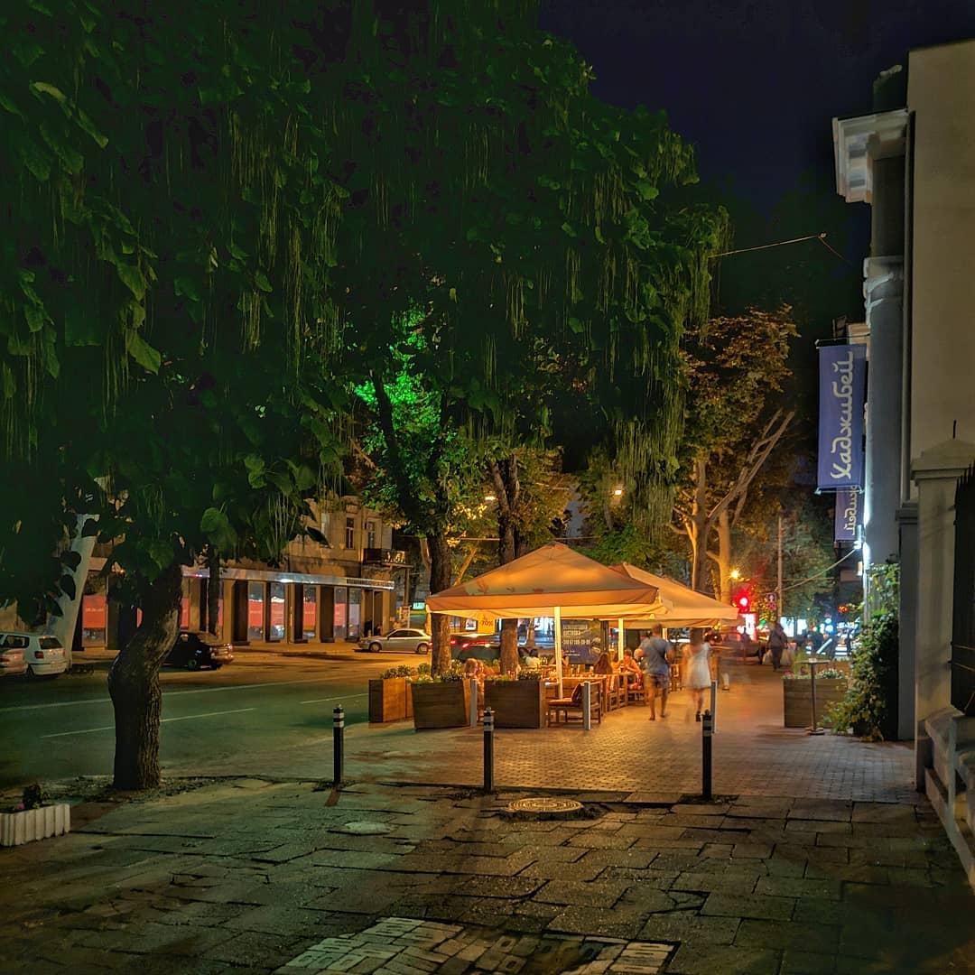 Магия вечернего города.... Екатериненская / Жуковского